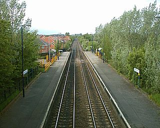 Bolton-upon-Dearne railway station Railway station in South Yorkshire, England