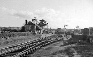 Boncath - Boncath Station, 1962