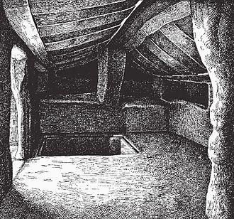 Domus de Janas - Image: Bonorva S.Andrea Priu La Tomba a camera