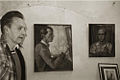 Boris Grigoriev - photo with self-portrait.jpg