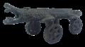 Borneo crocodile miniature cannon.png