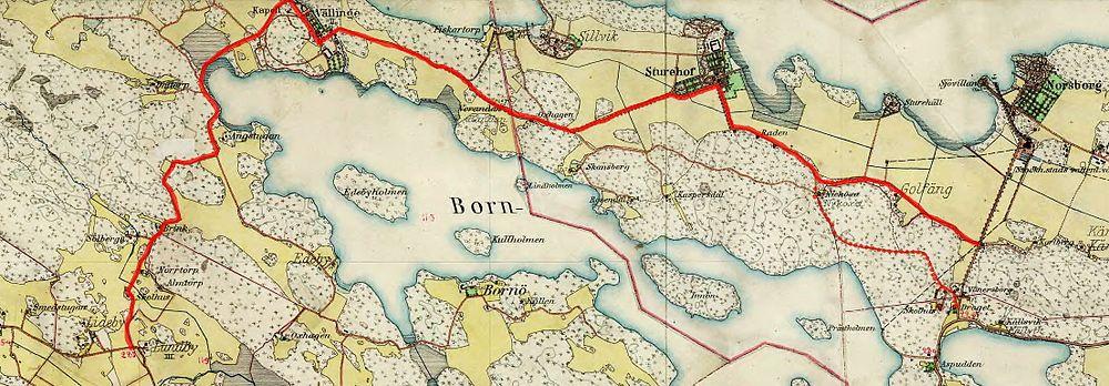 länsvägar karta Vällingevägen – Wikipedia länsvägar karta