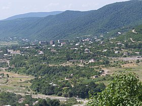 View on Zhinvali