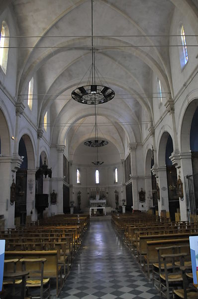 Boulbon, Hauptkirche St. Joseph