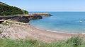 Bouley Bay beach, Jersey.JPG