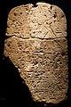 Boundary stela of Pharaoh Ramses II smiting his enemies - Ägyptisches Museum - Munich - Germany 2017.jpg