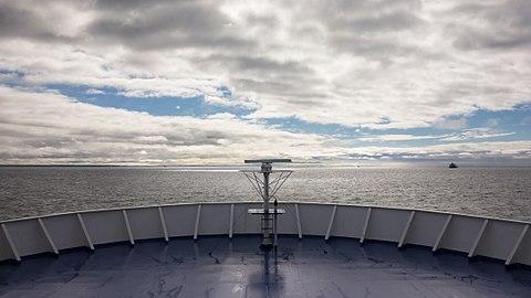 Bow of MS Stena Danica crossing Kattegat.jpg