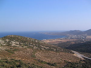 History of the Cyclades - Antiparos, dry rock?
