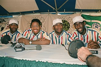 Boyz II Men - The group in 1995