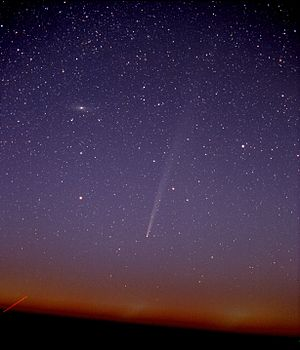 William A. Bradfield - Comet C/2004 F4 (Bradfield) from Cactus Flats in NE Colorado, US.