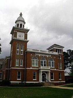 Брэдли Здание окружного суда и офиса Клерка в центре города Уоррен