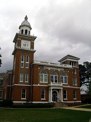 National Register of Historic Places listings in Bradley County, Arkansas - Image: Bradley County Courthouse 001