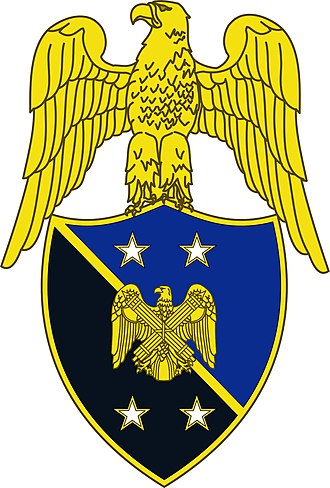 United States Army branch insignia - Image: Branch insignia, Aide to Chief, National Guard Bureau