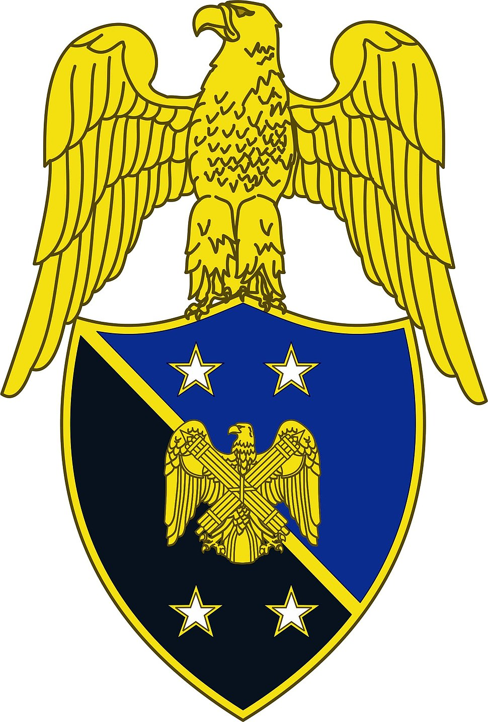 Branch insignia, Aide to Chief, National Guard Bureau