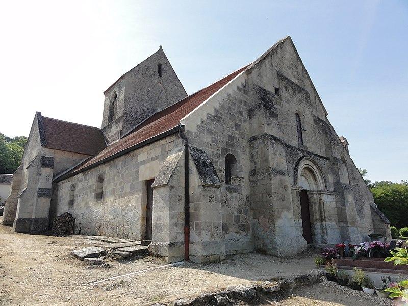 Brenelle (Aisne) église