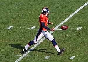 Brett Kern - Kern with the Denver Broncos in 2009