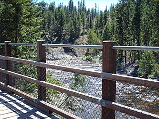 West Kettle River river in Canada