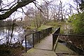 Bridge over Gully from Boxer's Lake, Enfield - geograph.org.uk - 732899.jpg