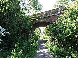 Hull and Hornsea Railway - Road bridge over the trackbed, near Hornsea