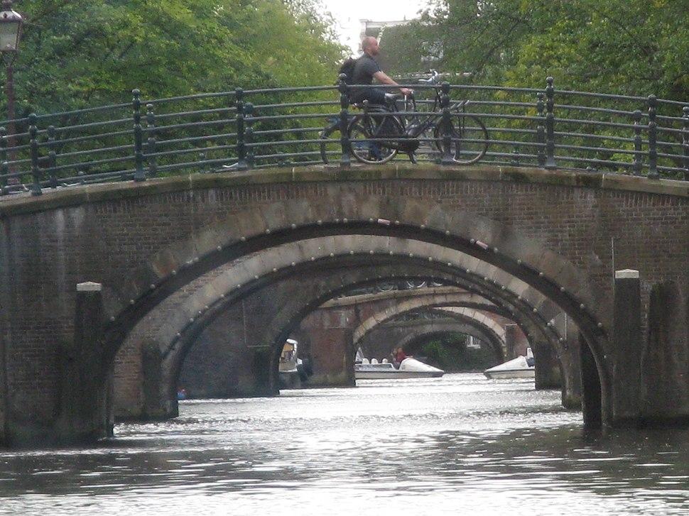 Bridges over Canal- Amsterdam