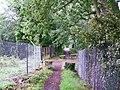 Bridleway, approaching railway bridge - geograph.org.uk - 1436618.jpg
