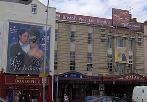 Bristol Hippodrome - Façade of the Bristol Hippodrome