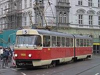 Brno, Město Brno, Moravské náměstí, Tatra K2 (4).jpg