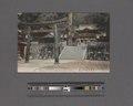 Bronze torii & Yohmeimon Gate, Nikko (NYPL Hades-2360375-4044174).tiff