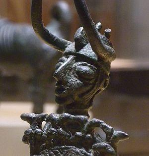 Nuragic bronze statuettes - Nuragic warrior from Padria