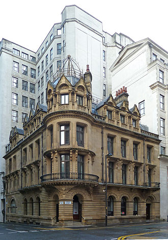 Cunliffe, Brooks - Brooks's Bank, Brown Street