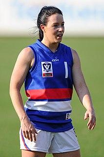 Brooke Lochland Australian speed skater, inline skater and Australian rules footballer