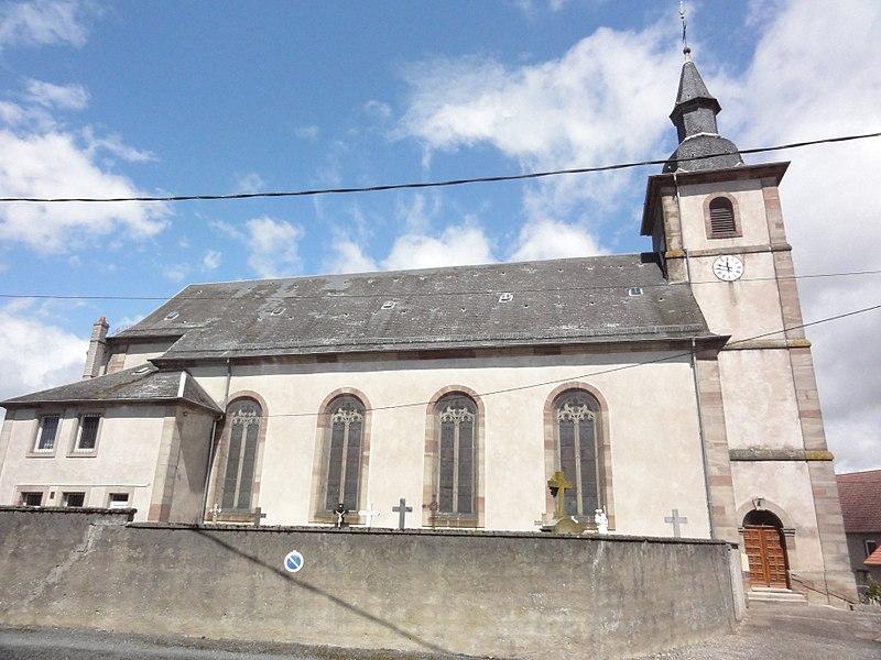Brouviller (Moselle) église