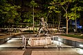 Bruce Lee monument in the Garden of Stars located in Tsim Sha Tsui East.jpg