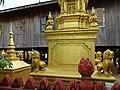 Buddhist Stupas outside Dwelling - Stung Treng - Cambodia (48429016127).jpg