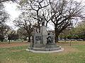 Buenos Aires - Palermo - Homenaje a Ramón Castilla en Plaza Chile.JPG