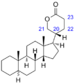 Bufanolide structure.png
