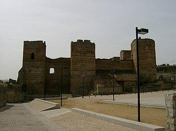 Castillo de Buitrago de Lozoya.