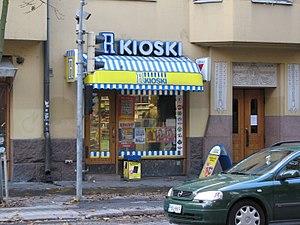 R-kioski - An R-kioski on Bulevardi in Helsinki in 2006.