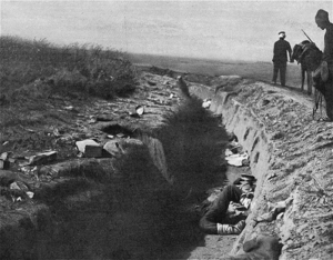 Battle of Kilkis–Lachanas - Bulgarian trench after the battle of Kilkis