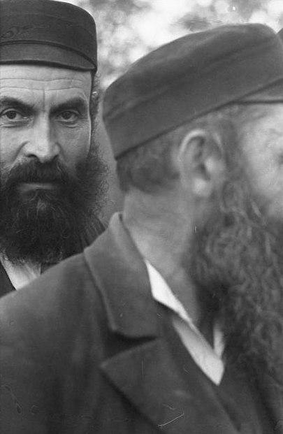 Portrait de Juifs par des nazis en 1939