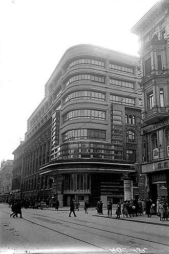 Mossehaus - Mossehaus, September 1923