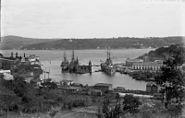 Bundesarchiv Bild 134-B0024, Stenia, Bosporus, Kreuzer Goeben