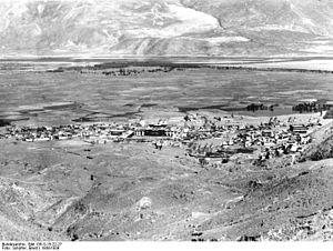 Tsetang - Tsetang, Tibet about 1938