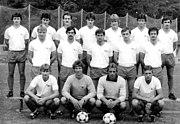 Bundesarchiv Bild 183-1983-0823-308, Mannschaftsfoto 1. FC Union Berlin