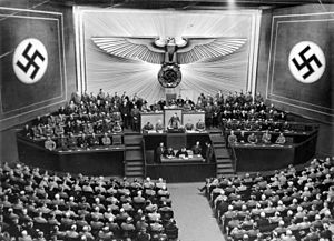 Reichstag (Nazi Germany) - Session of the Reichstag, 1940