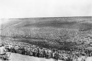 Bundesarchiv Bild 183-B21845, Sowjetische Kriegsgefangene im Lager