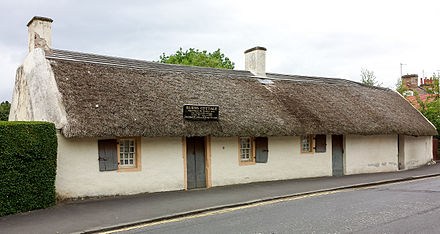 The Burns Cottage in Alloway, Ayrshire Burns Cottage - Alloway.jpg