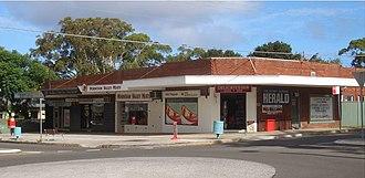 Woolooware - Image: Burraneer Bay shops