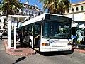 Bus azur 2012 - Heuliez 317 n°312 hotel de ville.JPG