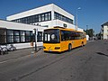 Bus station, Volvo 8700, 2017 Mátészalka.jpg
